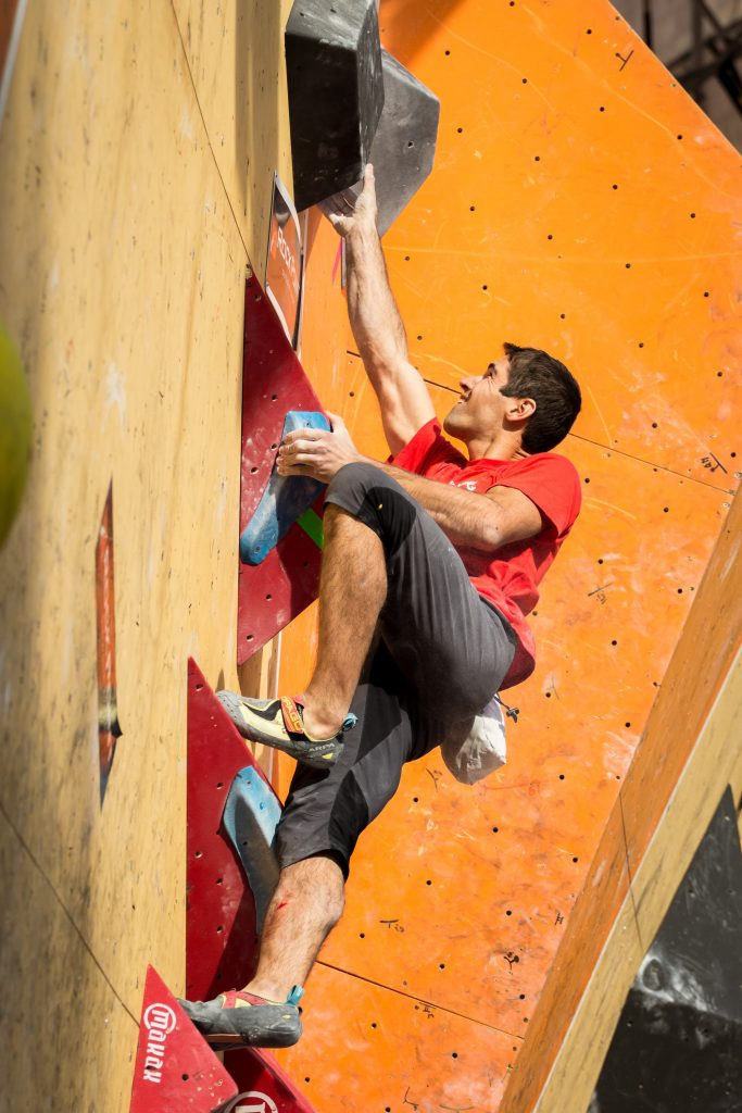 Championship in bouldering 2016